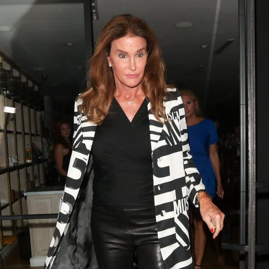 Caitlyn Jenner Wearing Leather Pants