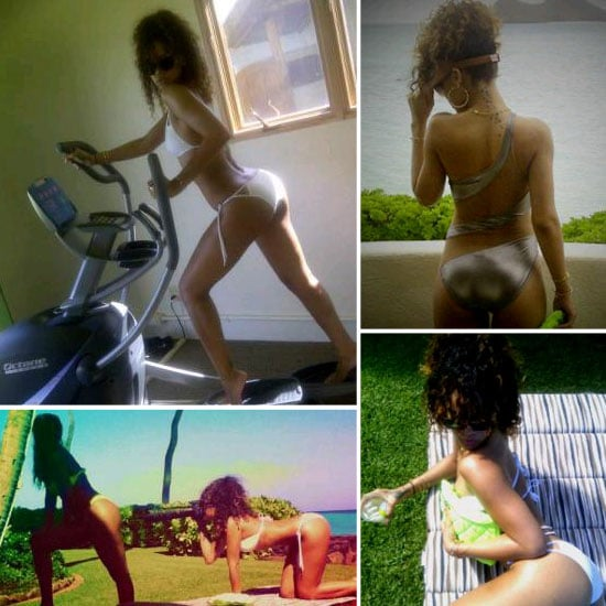 Rihanna Shares Sexy Pictures From Her Hawaiian Holiday!