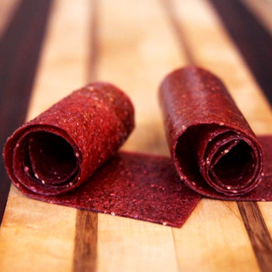 Snack: Homemade Strawberry Fruit Leather