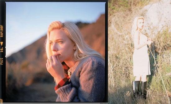 Scarlett Johansson New Album Photoshoot