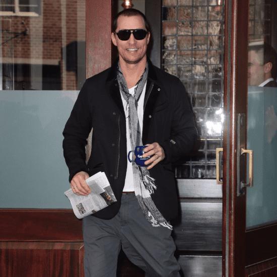 Matthew McConaughey and Camila Alves in NYC November 2015