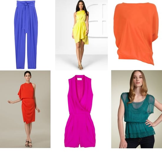 Shopping: Draped Silk Pieces In Bright Colors