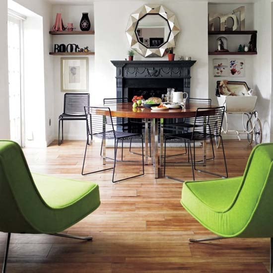Get the Look: Eclectic Open Plan Dining Room