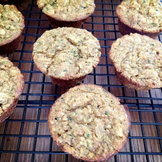 Apple Spinach Mini Muffins