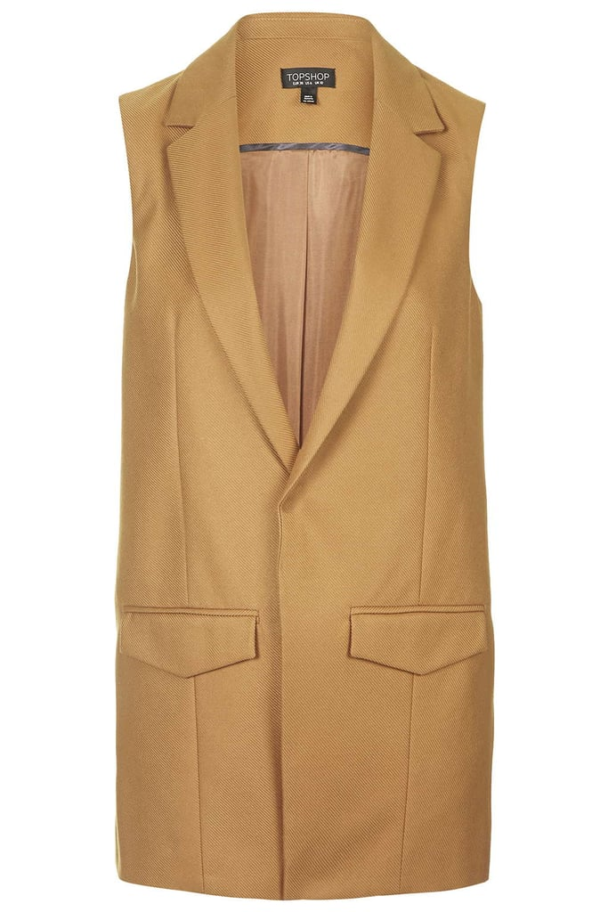A Tailored Sleeveless Blazer For Layering