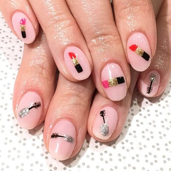 Makeup-Inspired Nail Art