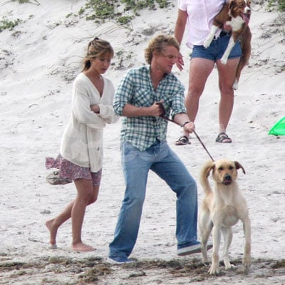 Jennifer Aniston and Owen Wilson on the Set of Marley and Me 2008-03-10 21:02:58