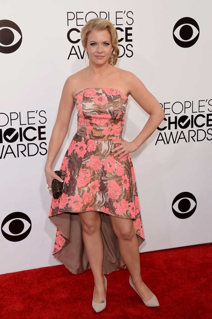 Melissa Joan Hart attended the People's Choice Awards.