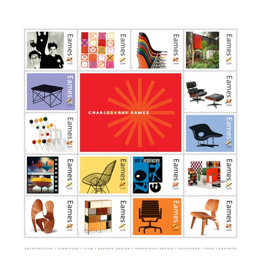 Nice and New: Charles & Ray Eames Stamps