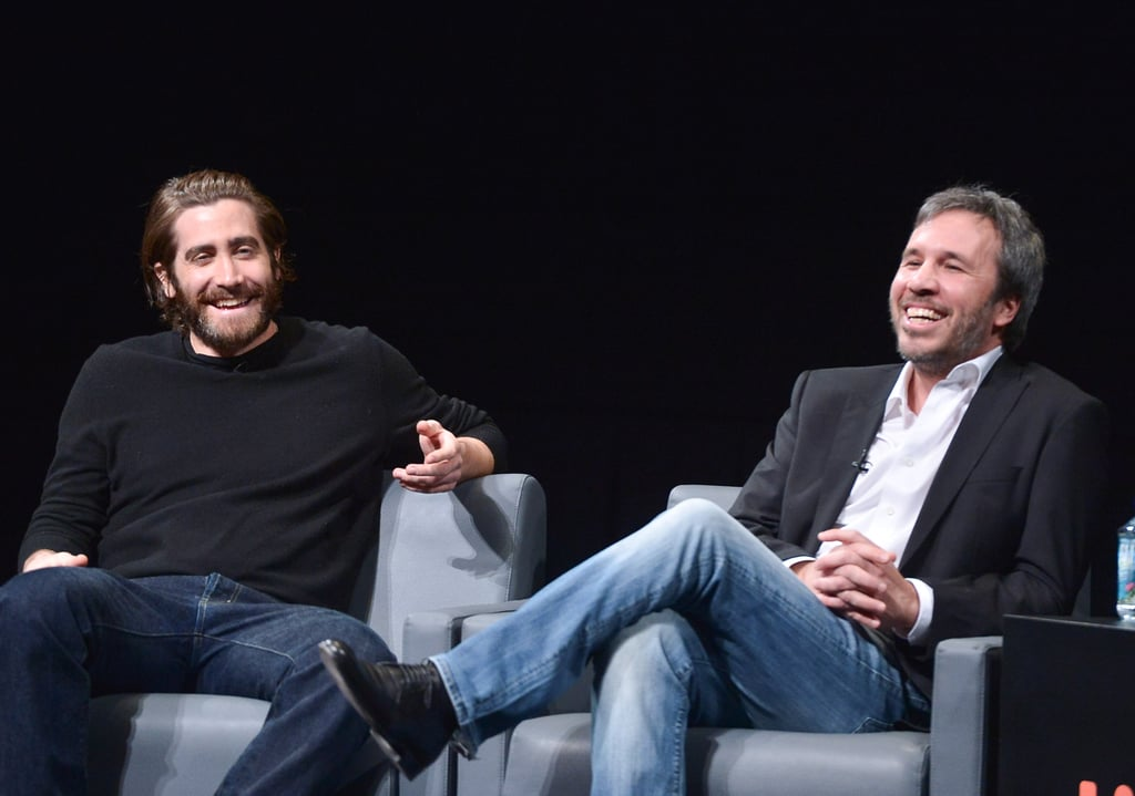 Jake Gyllenhaal joined director Denis Villeneuve for a chat about their new movie, Enemy.