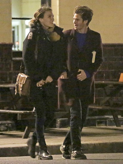 Andrew Garfield Spotted with Brunette Gal Pal in London