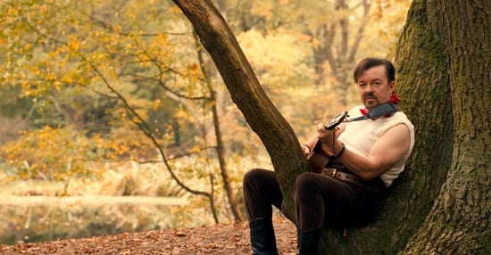 Watch Ricky Gervais Resurrect David Brent In This Hilariously Awkward Music Video