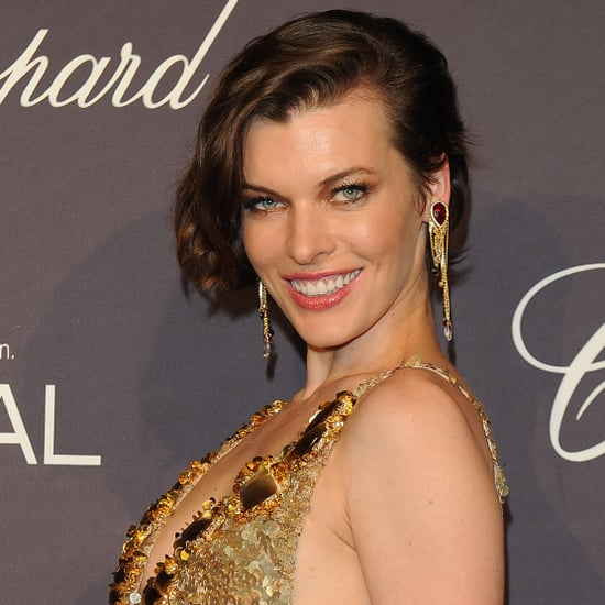 "Milla Jovovich Talks ""Electric Sky"" at Cannes"