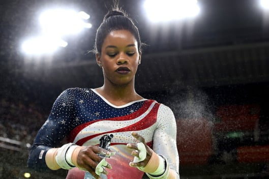 9 Ways to Copy Gabby Douglas's Lipstick Color
