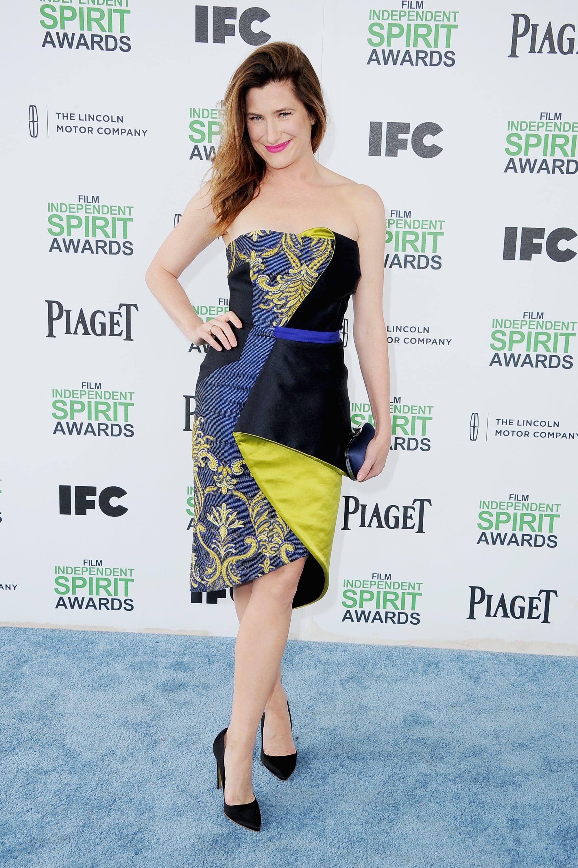 Kathryn Hahn at the 2014 Spirit Awards