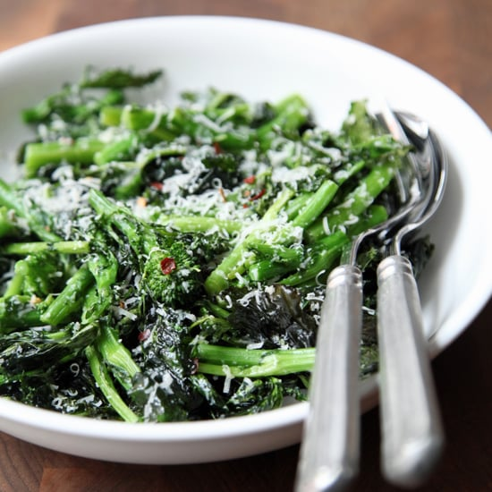 Roasted Broccoli Rabe With Lemon and Parmesan