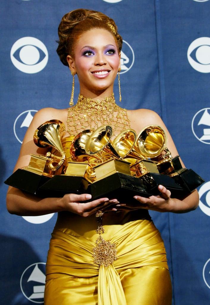 Beyoncé won her first Grammy without Destiny's Child.