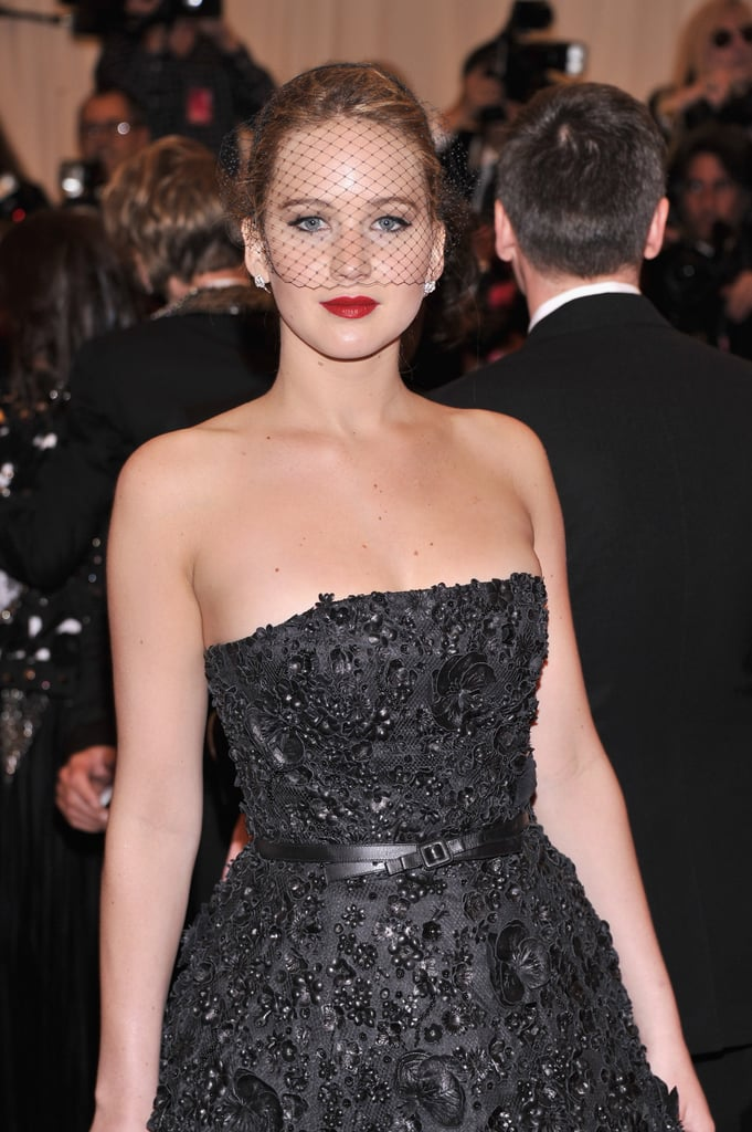 Jennifer Lawrence at the Met Gala 2013.