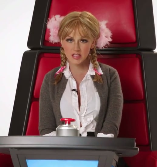 Christina Aguilera Does Some . . . Interesting Impressions of Britney, Miley, Gaga, and More