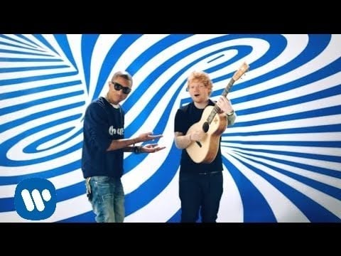 """Best Male Video: """"Sing"""" by Ed Sheeran Featuring Pharrell Williams"""