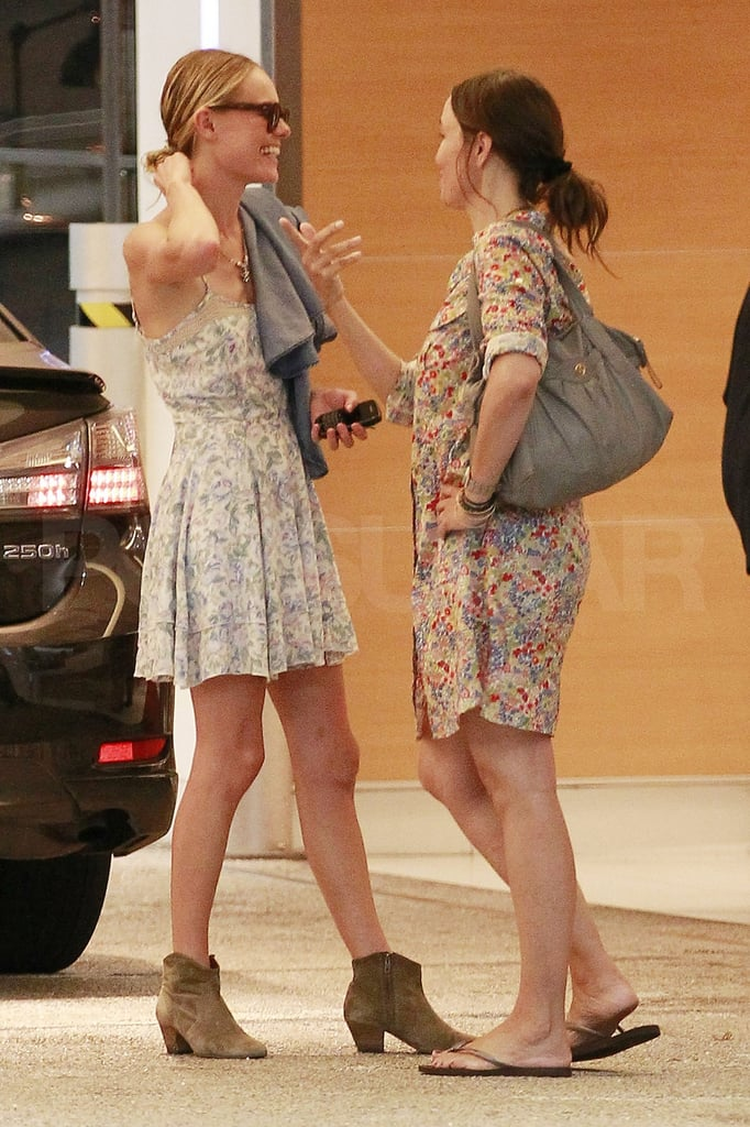 Kate Bosworth flashed a smile.