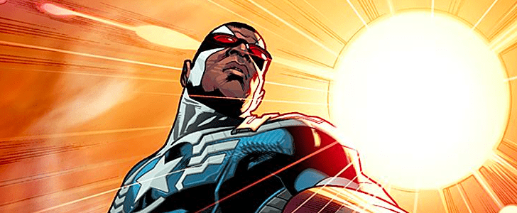 The New Captain America Is . . . the Falcon!