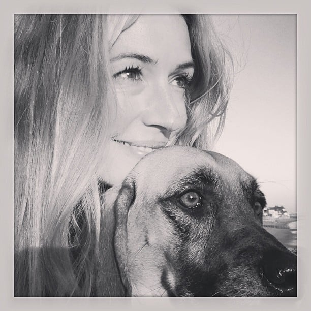 Cat Deeley shared a sweet snap with her dog. Source: Instagram user catdeeley