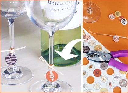 Yummy Link: DIY Wine Charms