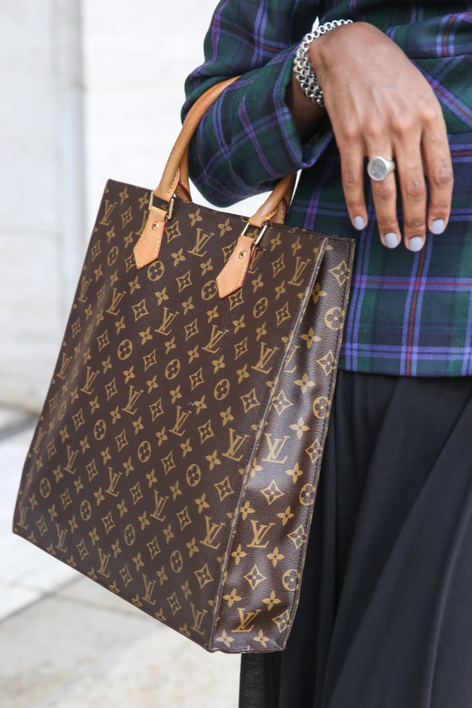 It's no secret: this Louis Vuitton bag is the perfect size for toting around your laptop.