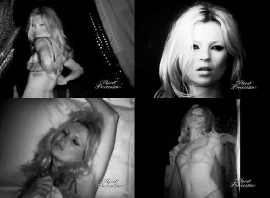 Kate Moss Strips For You