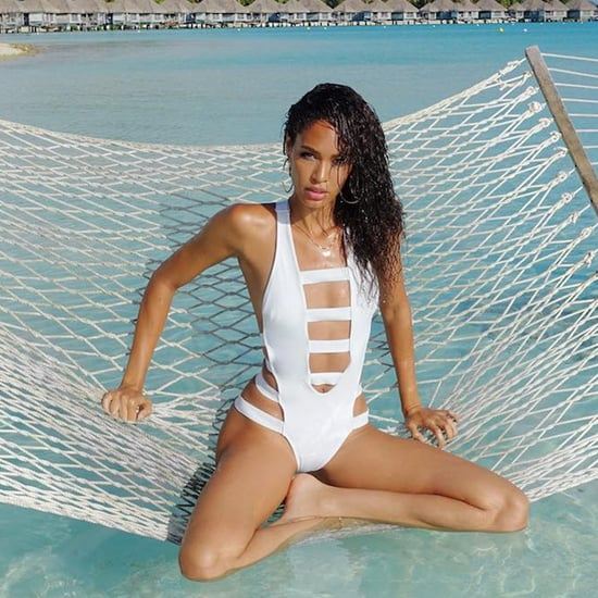 Joan Smalls's Bora Bora Vacation August 2016