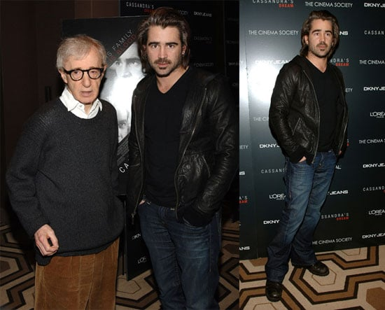 Colin Farrell and Woody Allen at NYC Premiere of Cassandra's Dream