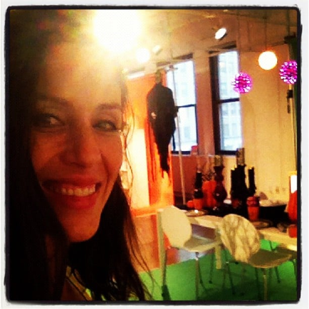 Soleil Moon Frye got started on her Halloween decorating. Source: Instagram user moonfrye