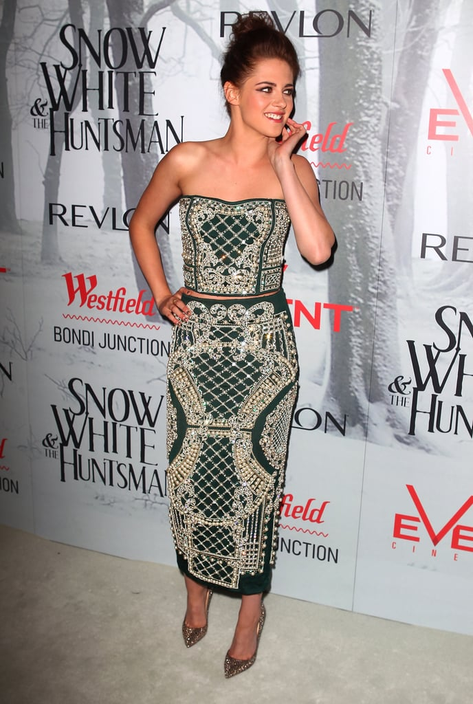 Kristen Stewart struck a pose in Sydney for SWATH.