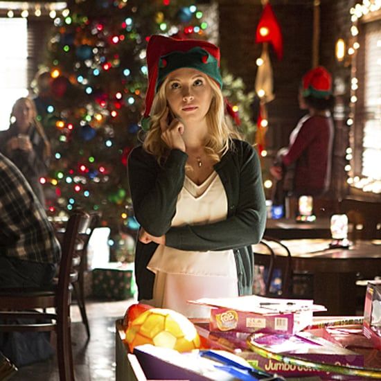 The Vampire Diaries Season 7 Christmas Episode Pictures