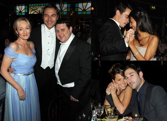 Photos of JK Rowling, David Walliams, Peter Kay, Jonathan Rhys Meyers, Rachel Stevens at Raisa Gorbachev Foundation Gala Dinner