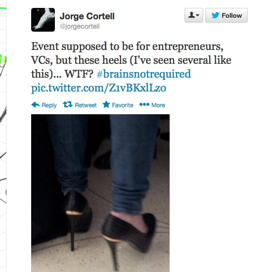 Male CEO Tweets About High Heels