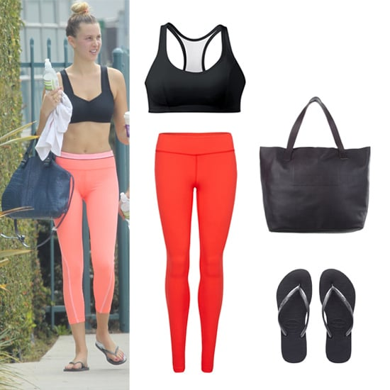 Get the Look: Whitney Port Workout Style