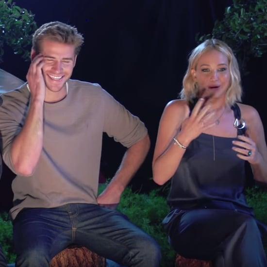 Jennifer Lawrence Mockingjay Camp Video
