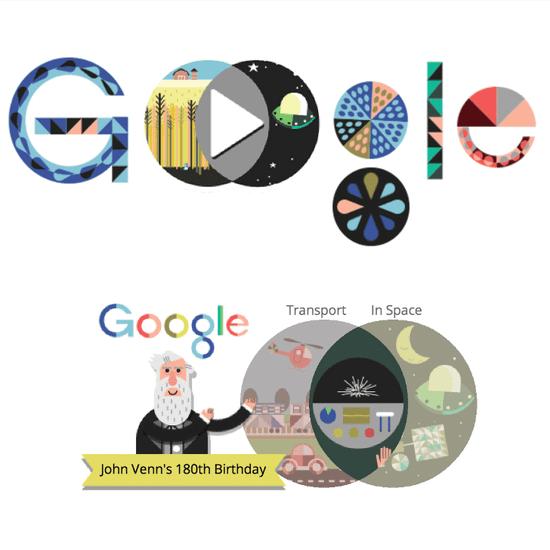 Venn Diagram Google Doodle