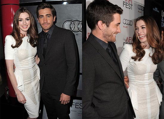 Jake Gyllenhaal, Anne Hathaway, Michelle Monaghan and Matthew Morrison at LA Premiere Love and Other Drugs