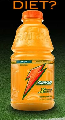 Diet Gatorade: Cool or Not?