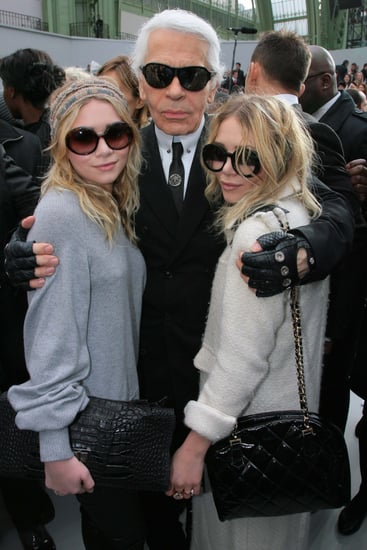 Karl Lagerfeld's Influence in Olsen's Book: Models Who Don't Talk