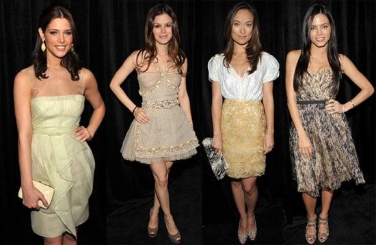 Photos of Ashley Greene, Rachel Bilson, Jenna Dewan, Olivia Wilde, and More at InStyle Golden Globes Luncheon 2010-01-14 15:30:00