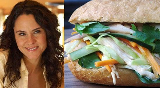 Vietnamese Chicken and Cabbage Slaw Sandwich Recipe