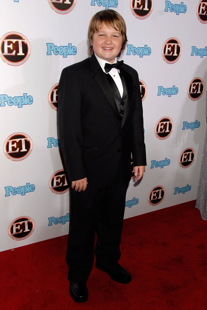 Wearing a tux for an Entertainment Tonight party in September 2007.