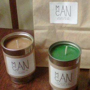 Manly Candles Come in Bacon Scent