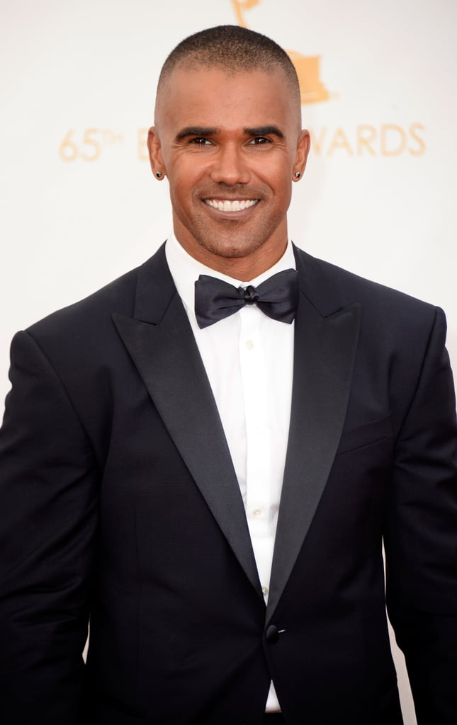 Shemar Moore showed off his sexy smile at the Emmys.