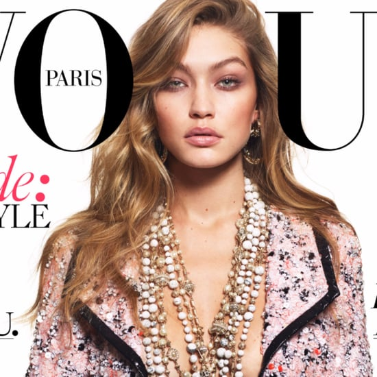Gigi Hadid Paris Vogue Cover 2016