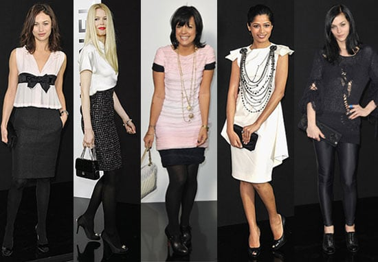 Which Lady in Chanel Is Most Fab?